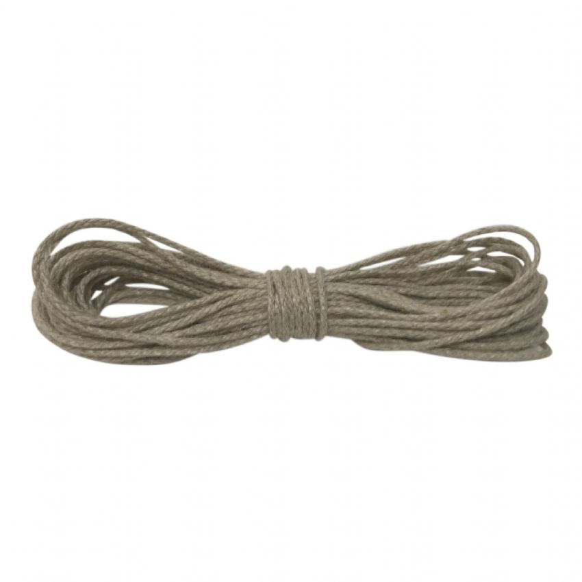 1.50mm Cotton Rope 21ft (6.40mtrs) long in a natural colour